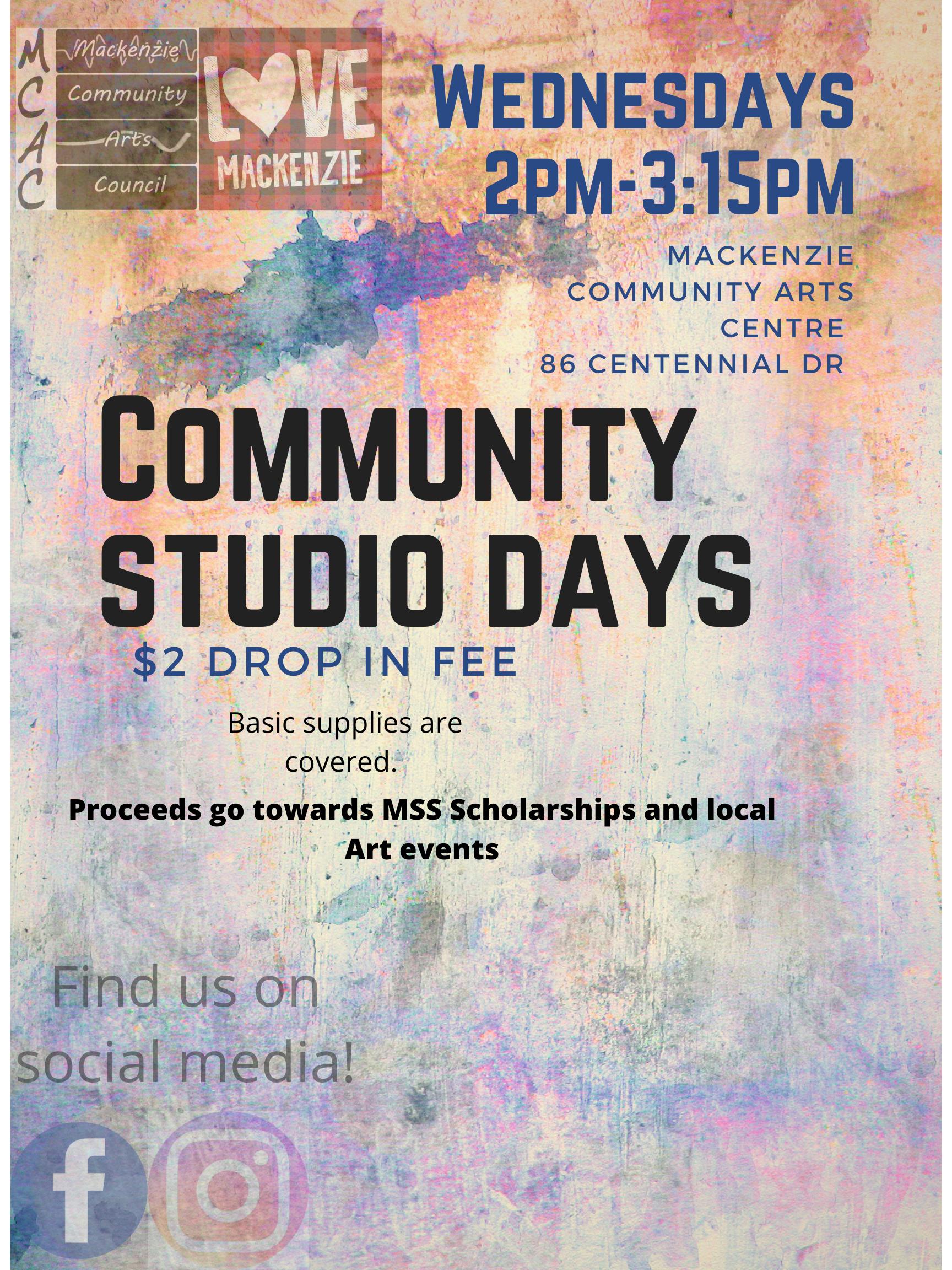 community studio poster