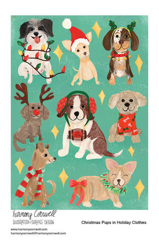 Harmony Cornwell 2021 - Christmas Pups.jpg