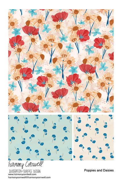 Harmony Cornwell 2020 - Poppies and Daisies.jpg