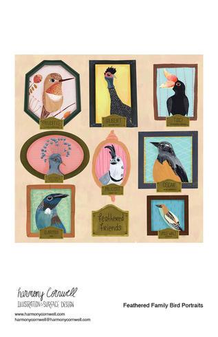 Harmony Cornwell 2021 - Feathered Family Bird Portraits.jpg