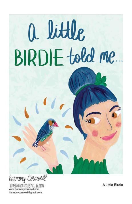 Harmony Cornwell 2020 - A little birdie.