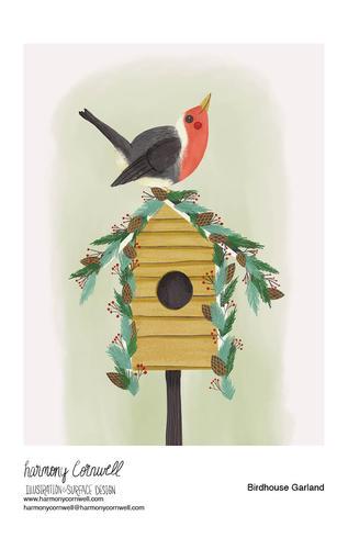 Harmony Cornwell 2020 - Birdhouse Garlan