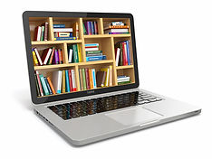 E-learning education or internet library