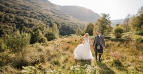 Robyn + Alan's wedding day | Luss Parish Church + Loch Lomond Arms Hotel, Luss