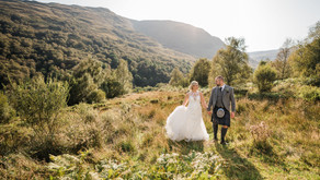 Robyn + Alan's wedding day | Luss Parish Church + Loch Lomond Arms Hotel, Luss