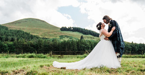 Tina + Chris' wedding day | Falkland Estate, Fife
