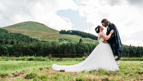 Tina + Chris' wedding day | Falkland Estate, Fife