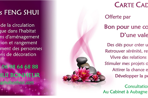 Carte Cadeau Consultation