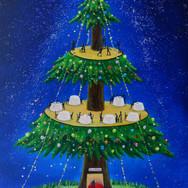 クリスマスツリータワー
