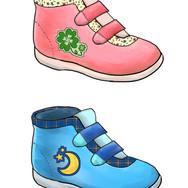靴のプレゼン資料用イラスト