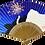 Thumbnail: ゾウのシルエット扇子【打ち上げ花火】