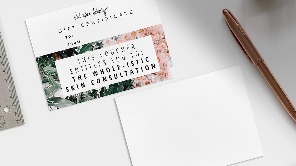 Skin Consultation Gift Certificate