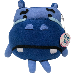Sad Hippo Puppet (Yai-Ya's Toys)