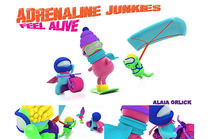 Adrenaline Junkies by: Alaia Orlick