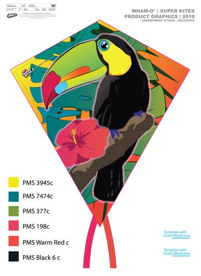 Toucan Kite Design