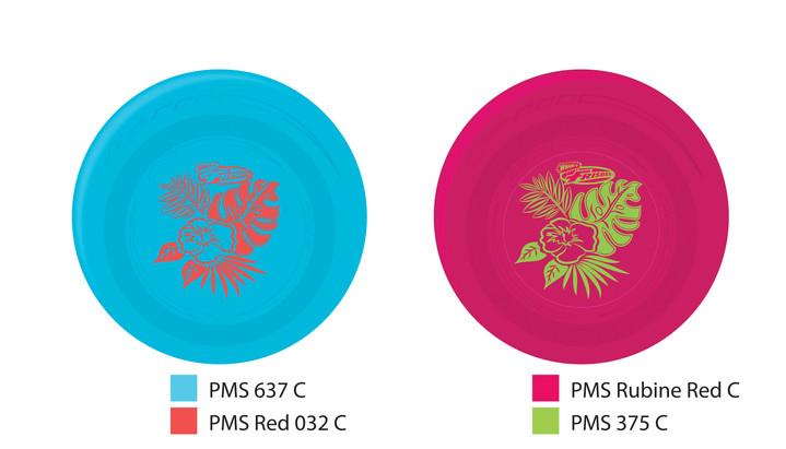 Hawaiian Bouquet Frisbee