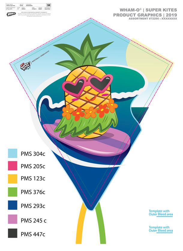 Pineapple Kite 2019