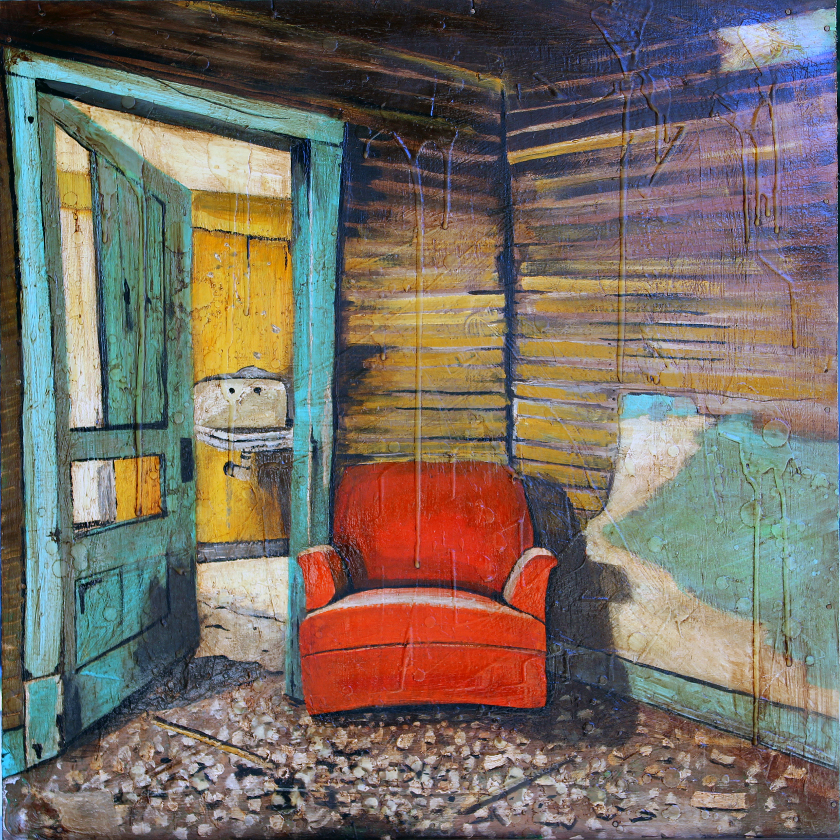 Orange-Chair-Danny-Cottingham
