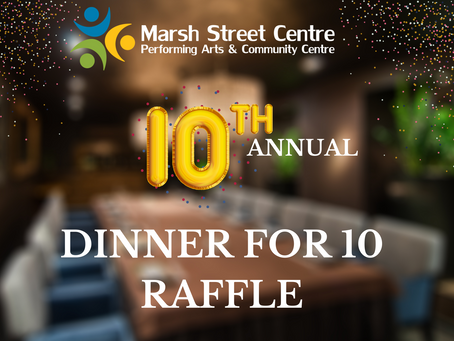 Dinner For Ten Raffle