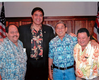 With the Hawaii Council of Mayors