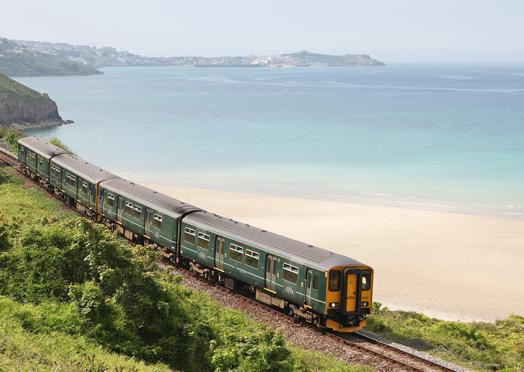 Cornwall's great scenic railways ...click again for more information