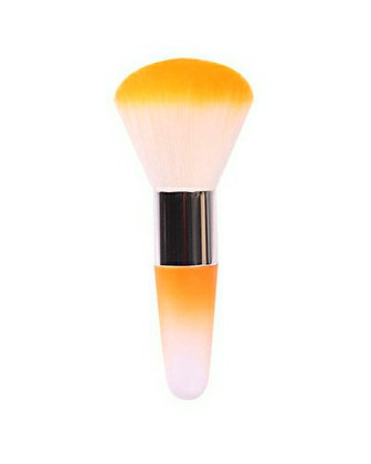 Luxury Nail Dust Brush - Amber