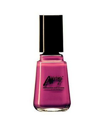 Raspberry Can Can 14ml Nail Polish by Attitude