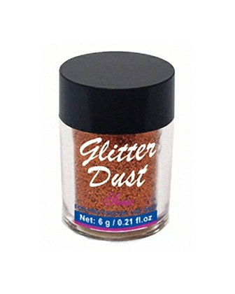 6g Glitter Dust - Golden Red