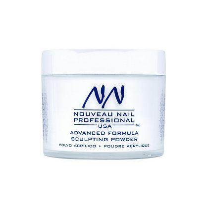 57g (2oz) WHITER WHITE Acrylic Powder (Polymer) by Nouveau Nail