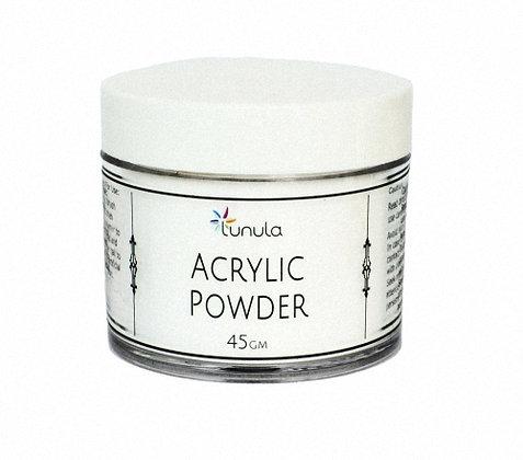 45g CRYSTAL CLEAR Super-Fine Acrylic Powder (Polymer)