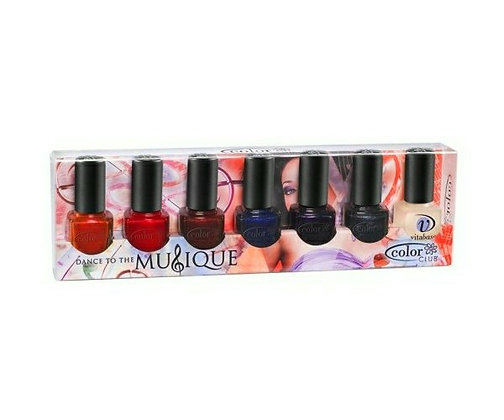 Dance To The Musique 7-pcs Collection by Color Club
