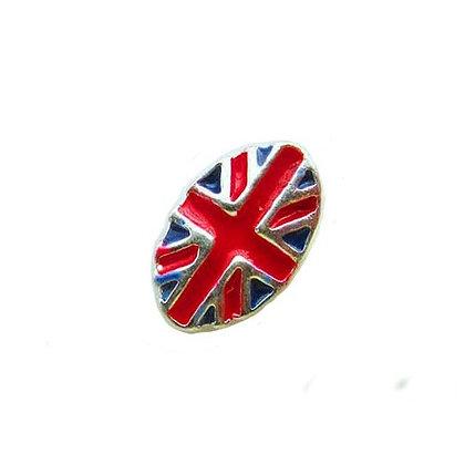 Union Jack Nail Art Gem