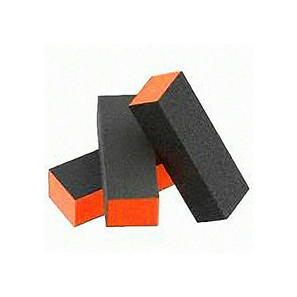10-Pack Orange Buffing Blocks (medium grit)