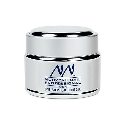 50g LED/UV One-Step Gel - Crystal Clear by Nouveau Nail