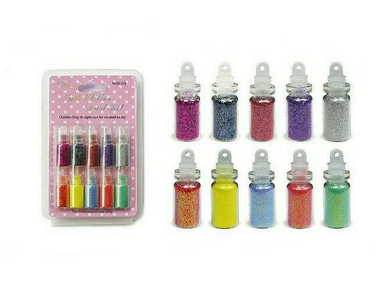 10pcs Nail Glitter Dust Set.03