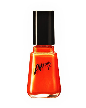 Outrageous Orange 14ml Nail Polish by Attitude