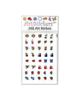 Foil Nail Art Stickers.19