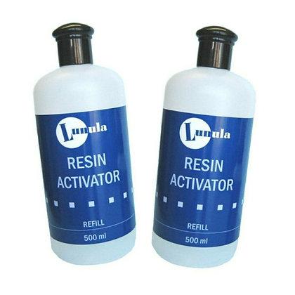 2 x 500ml (1 Litre) Resin Activator/Accelerator