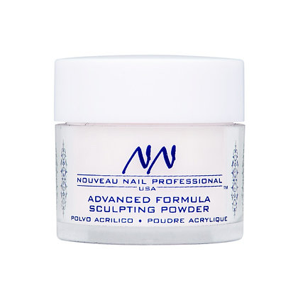 20g SOFT WHITE Acrylic Powder (Polymer) by Nouveau Nail