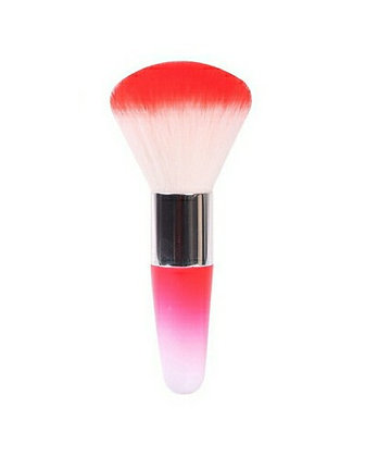 Luxury Nail Dust Brush - Crimson