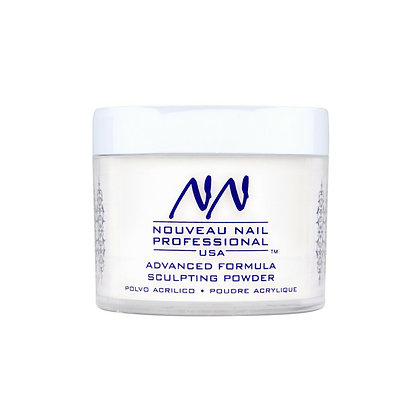 57g (2oz) SOFT WHITE Acrylic Powder (Polymer) by Nouveau Nail