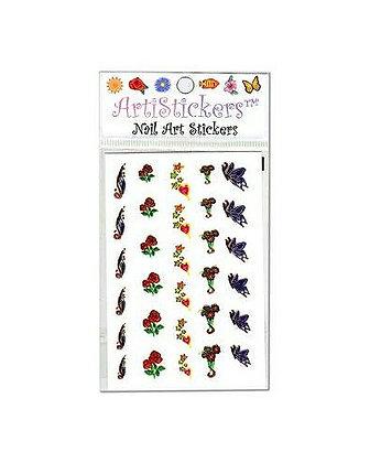 Foil Nail Art Stickers.20
