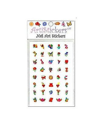 Foil Nail Art Stickers.05
