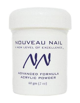 HALF PRICE 57g Soft White Acrylic Powder (polymer) by Nouveau Nail