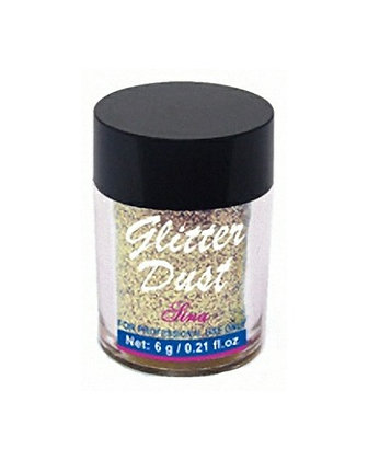 6g Glitter Dust - Light Gold