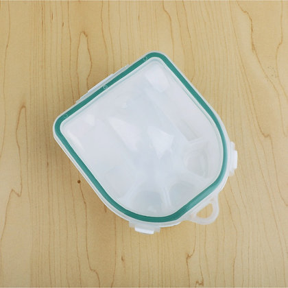 Thermal Manicure Bowl - Green Trim