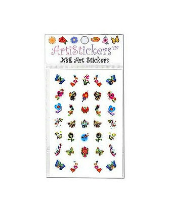Foil Nail Art Stickers.15