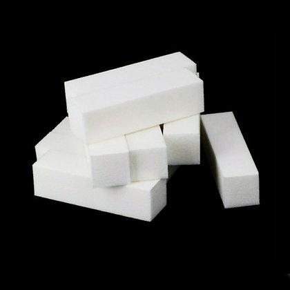 10-Pack White Buffing Blocks (fine grit)
