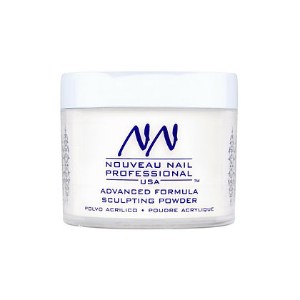 57g (2oz) NATURAL Acrylic Powder (Polymer) by Nouveau Nail