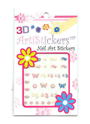 3D Nail Art Stickers - Various
